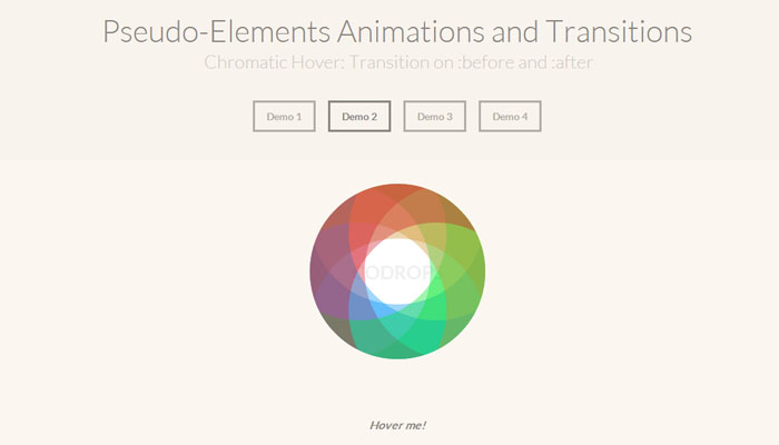 Creating Pseudo-Elements Animations and Transitions Using CSS3