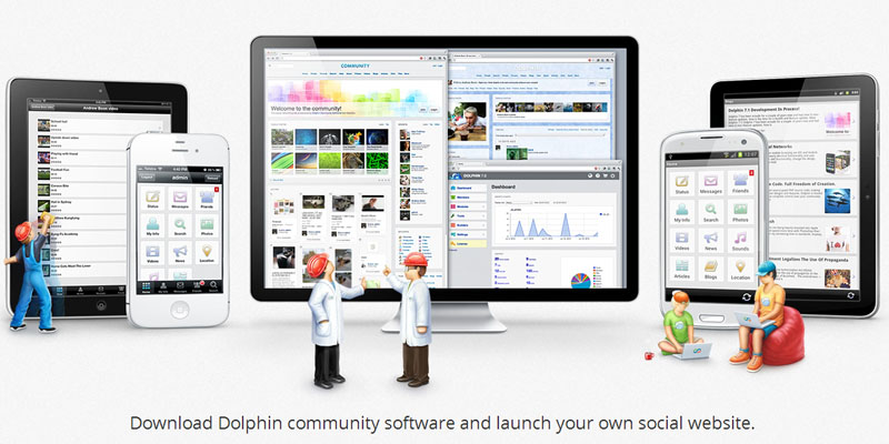 Dolhin to create social website