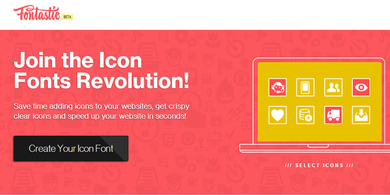 fontastic to create icon font
