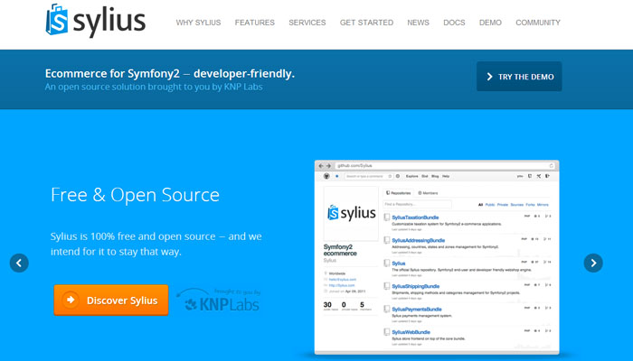 Sylius Open Source Ecommerce Solution