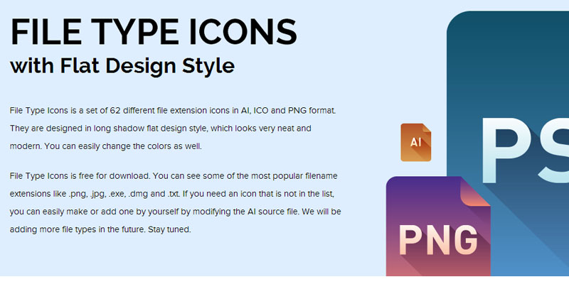 Download file type icons for free
