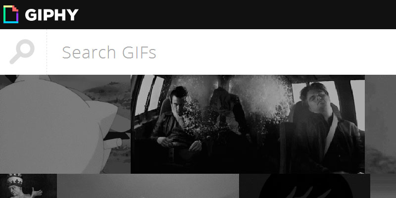 Giphy: A GIF image search engine