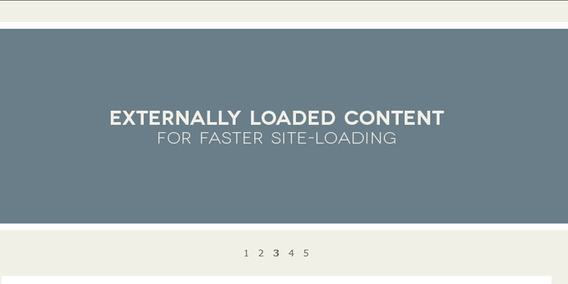 Hashslider: Jquery plugin to slide the content with #hash tag