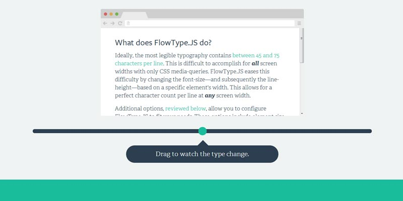 Flowtype a responsive web typography solution