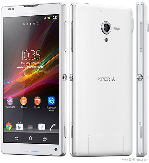Sony Xperia ZL top mobile phone model from Sony
