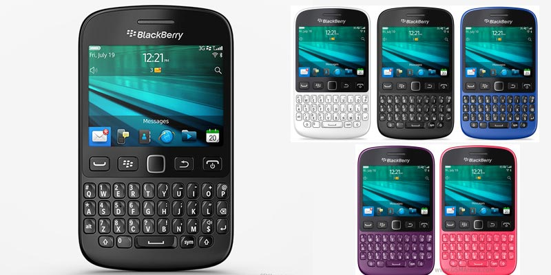 Blackberry 9720 launched in India