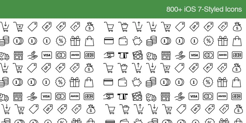 Download over 800 ios7 icons for free