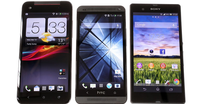 HTC One: A flagship phone model from HTC