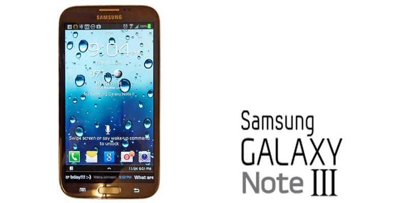 Samsung galaxy note 3 coming on 4th September