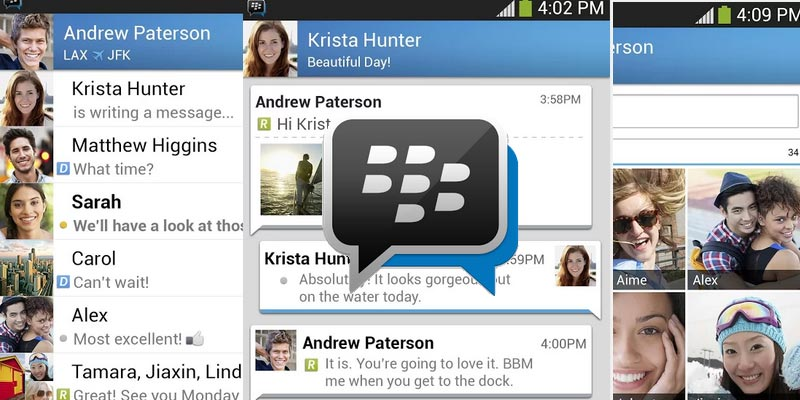 BBM for Android and Iphone is now available globally
