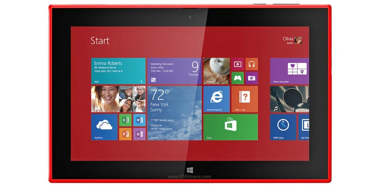Nokia Lumia 2520 the first ever windows 8.1 tablet launched
