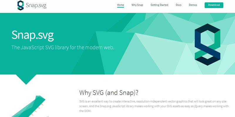 Snap.svg: A Javascript library to create interactive scalable vector graphics
