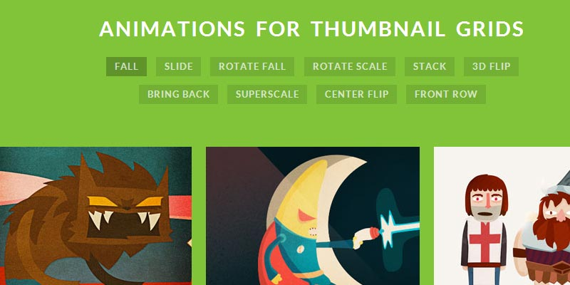 Learn how to animate thumbnail grids