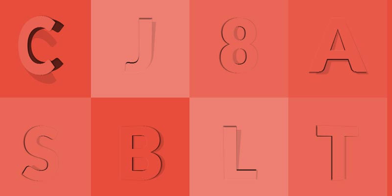 Learn to create animated opening type effect with CSS3