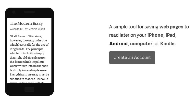 Instapaper.com : To archive post and read it later anytime, anywhere