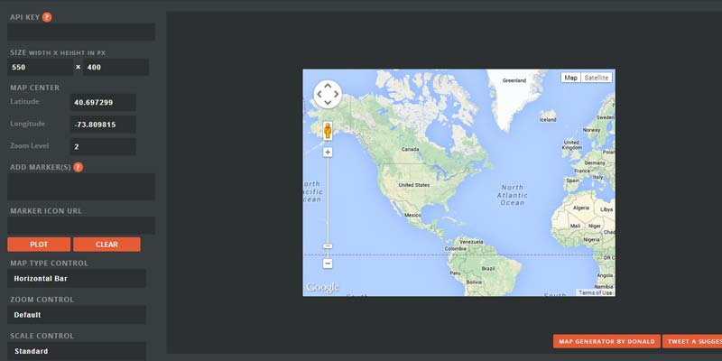 Build and embed google map easily with Google Map Builder