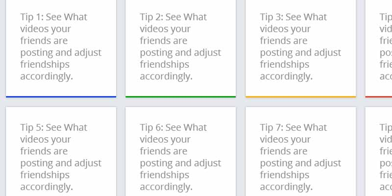 JQuery Tip Cards: To create Google tips like flip card layout