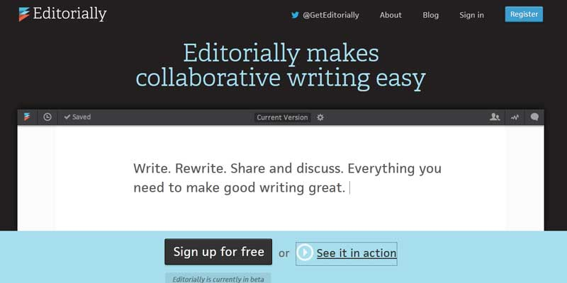 Write in collaboration with Editorially.com