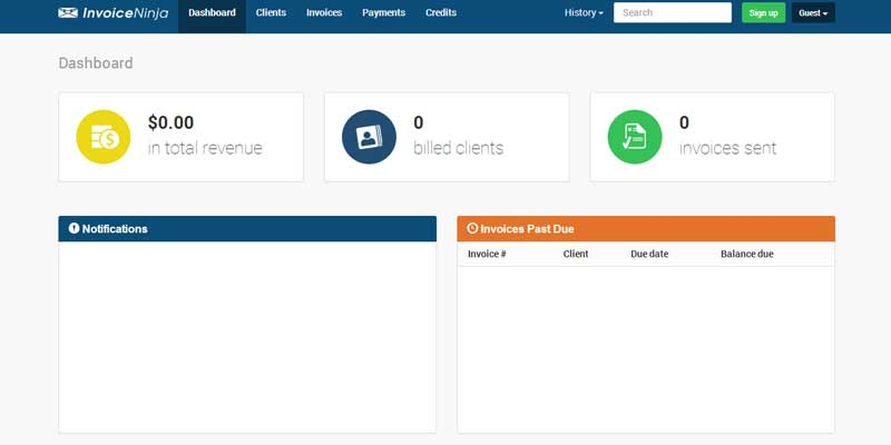 Invoice Ninja: An open source and free invoice app