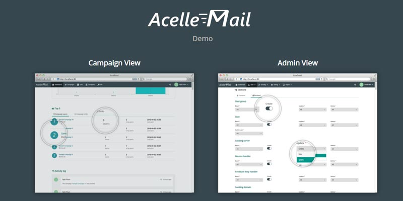 Acelle Email Marketing Application