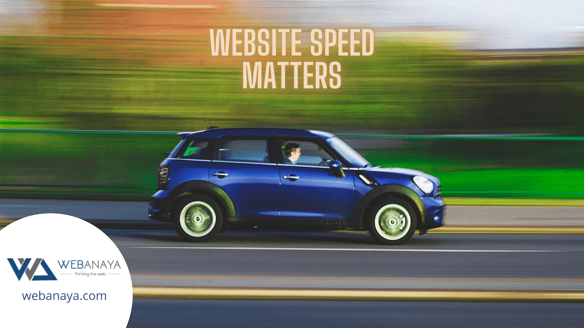 Website speed is inevitable